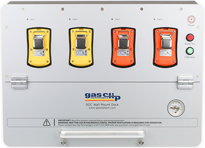 Gas Clip. Single Gas Clip Dock - Testing dock in portable case with gas compartment,regulator, gauge, dock charger & USB memory (for use with SGC & SGC PLUS)  SGC-DOCK