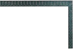 "Starrett RSA-24 Aluminum L-Shaped Professional Rafter/Framing Square, 24"" x 16"" Length"