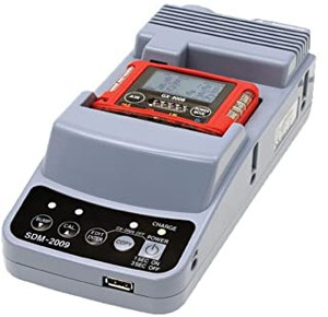 RKI 81-SDM2009-06 SDM-2009 cal station,AC adptr,flash drive,USB cable,tubing,CD,34 liter 4-gas cylinder,DFR