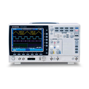 Instek GDS-2304A 300 MHz, 4-Channel, 2 GSa/s Real-Time, 100 GSa/s Equivalent-Time Visual Persistence