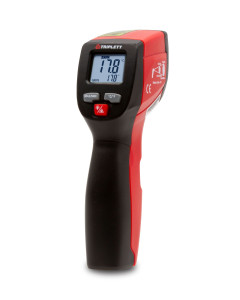 Triplett 12:1 NON- CONTACT INFRARED LASER THERMOMETER: TEMPERATURE RANGE OF -4° TO 932° F - (IRT220)