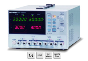 GW Instek GPD-3303S Multi Output Programmable Linear DC Power Supply, 30V, 3A