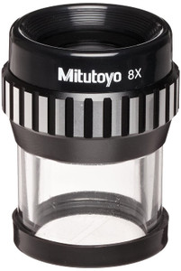 Mitutoyo 183-904 Pocket Comparator with One Reticle, 8x Magnification