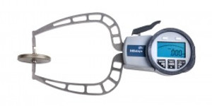 """Mitutoyo 209-915 Digital Caliper Gage, 0-1.57"""", 0.001"""", 116 mm Depth with External Tube Thickness Measurement"""