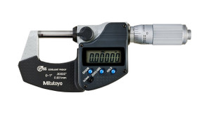 "Mitutoyo 293-348-30 Digimatic Micrometer, IP65, 0-1"""