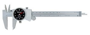 "Mitutoyo 505-742 Dial Caliper, 0.1"" per Rev, 0-6"" Range, 0.001"" Accuracy"