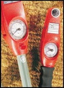 """Mountz 020120 EDS1400 Dial Wrench with Light Signal (1"""" Sq Dr.)"""