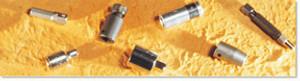 "Mountz 120149 Square Dr. Adapter (3/8 Sq. Dr x 1/4 Hex x 3""L) Pin Type"