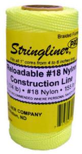 U.S. Tape 25006 Fluorescent Orange STRINGLINER PRO REELS  135ft.(1/8lb.)TWISTED