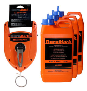 U.S. Tape  76480  White DuraMark Chalk - Professional quality; Intense color