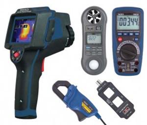 REED Instruments REED-ELECTRICAL-KIT THERMAL IMAGER/MULTIMETER/MULTI-FUNCTION METER COMBO KIT
