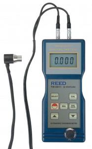 "REED Instruments TM-8811-NIST THICKNESS GAUGE, ULTRASONIC, 0.05/7.9"", 1.5/200MM W/NIST CERT"