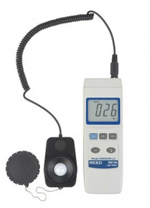 REED Instruments R8120 LIGHT METER, 20,000 LUX (YK-10LX)