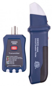 REED Instruments R5500 CIRCUIT BREAKER FINDER/RECEPTACLE TESTER/ GFCI TESTER