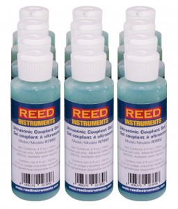 REED Instruments R7950/12 ULTRASONIC COUPLANT GEL, 4OZ (118ML), 12-PACK