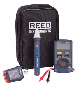 REED Instruments R5006-KIT ELECTRICAL TEST KIT