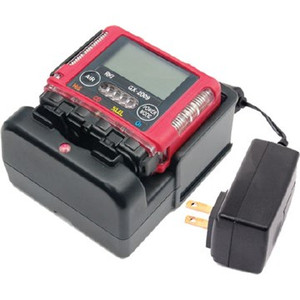 Rki Instruments 72-0304RKC  GX-2009, 2 gas, LEL / O2 with alligator clip and 115 / 220 VAC charger