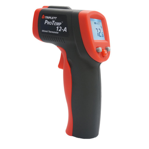 Triplett ProTemp PT12A Non-Contact Infrared Thermometer with Backlit Display