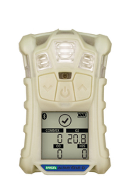 MSA 10178558 Altair 4XR Multigas Detector: LEL, O2, H2S & CO, Glow-in-The-Dark case, North American Charger