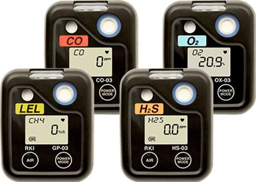 RKI Instruments 03 Series O2 Main PCB Board Assembly 57-1283