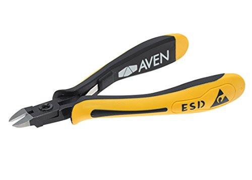 """Aven 10826F Accu-Cut Relieved Tapered Head Cutter, 4-1/2"""" Flush"""