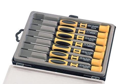 Aven 13940 Precision Chromium Vanadium Steel Slotted/Phillips Screwdriver Set...