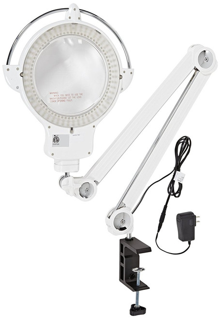 Aven ProVue Touch White LED Magnifying Lamp, 26508-LED