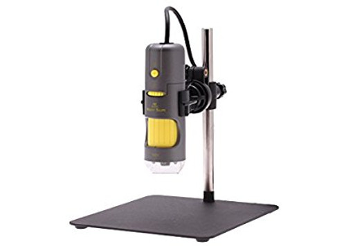 Aven 26700-204 Digital Handheld Microscope, 500x Fixed Magnification, Upper L...