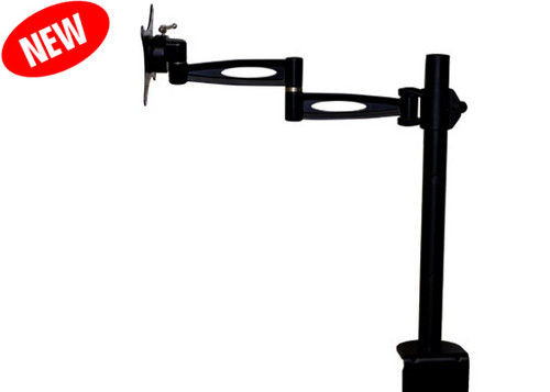 """Aven 26700-410 512 Series LCD Monitor Mount with 17"""" Post Height"""
