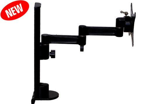 """Aven 26700-411 542 Series LCD Monitor Mount with 12"""" Post Height"""