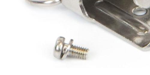 Gas Clip. Alligator Clip Screw replacement (for use with all GCT detectors)  AL-CLIP SCREW