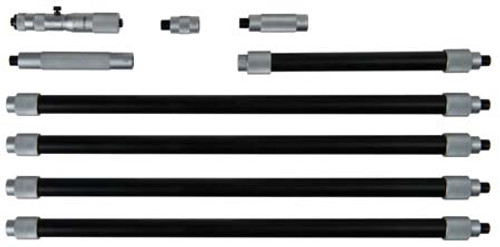 "Mitutoyo 139-202, 4"" - 40"" X .001"" Tubular Inside Micrometer"