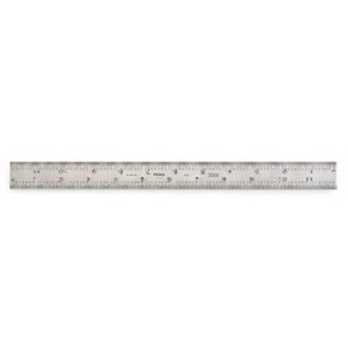 "Mitutoyo 180-501B Combination Square Blade, 12"", 4R"