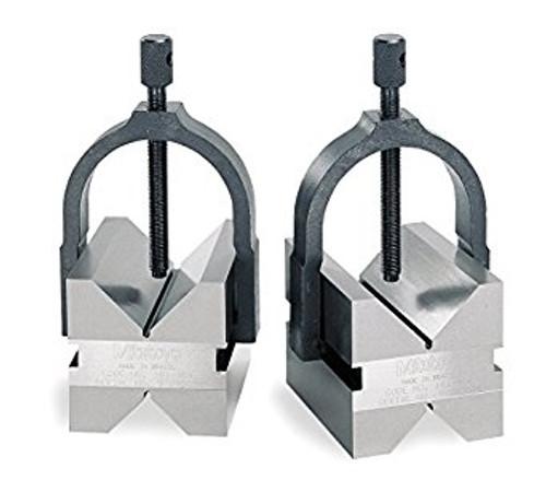 "Mitutoyo 181-901-10 V-Block, Magnetic, 1"", 2 Pc/Set"
