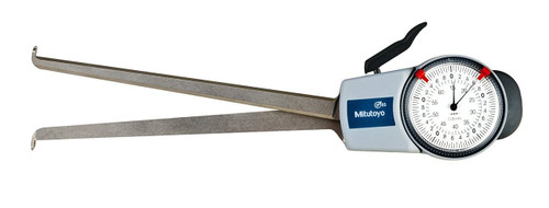 Mitutoyo 209-901 Dial Caliper Gage, 15-65 mm, 0.05 mm, 188 mm Depth with Internal Measurement