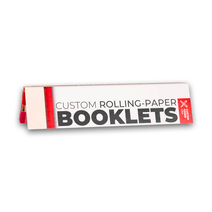 King Size Slim Custom Branded Rolling Paper Booklet