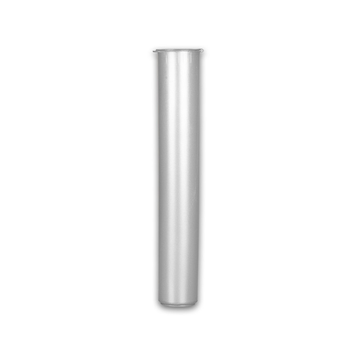 116mm Joint Tubes - Silver - Child Resistant [1000 tubes per case]