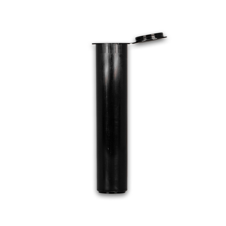 90mm Joint Tubes - Black - Child Resistant [1000 tubes per case]