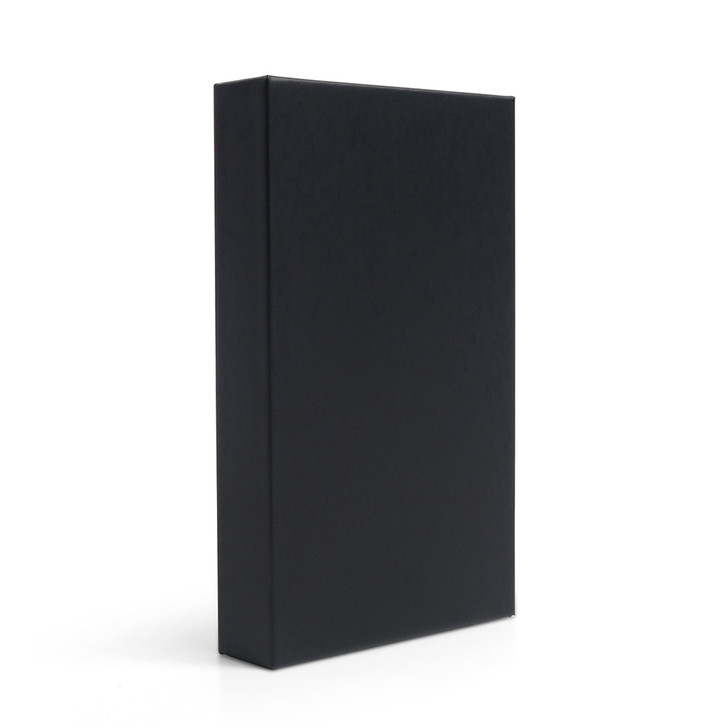 Unbranded Black Push Packs - No Dividers - 98mm (Box of 200)