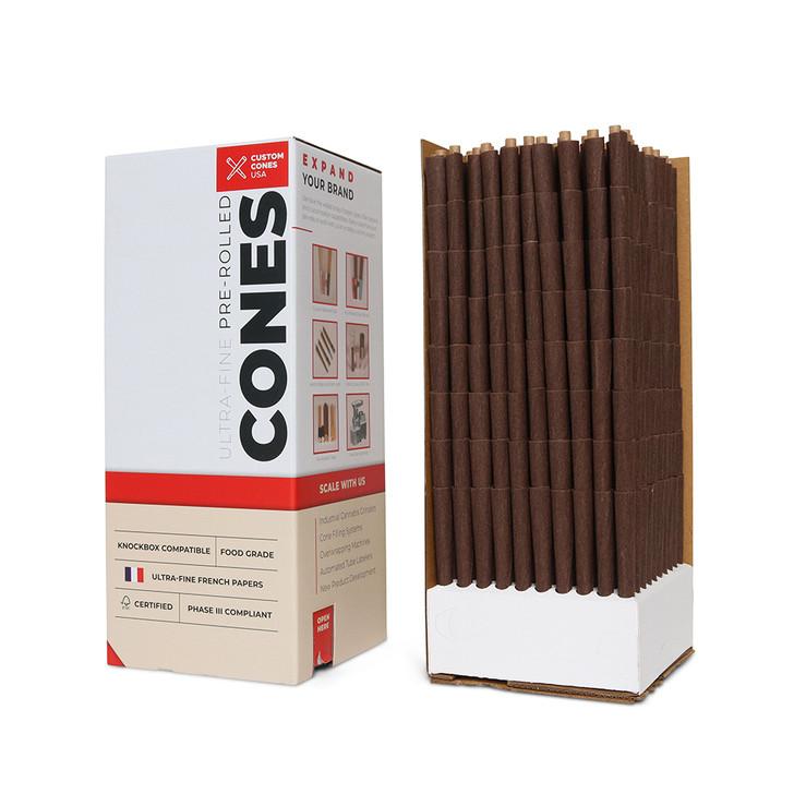 1-Gram Botanical Blunt Cones - Cocoa [800 per box]