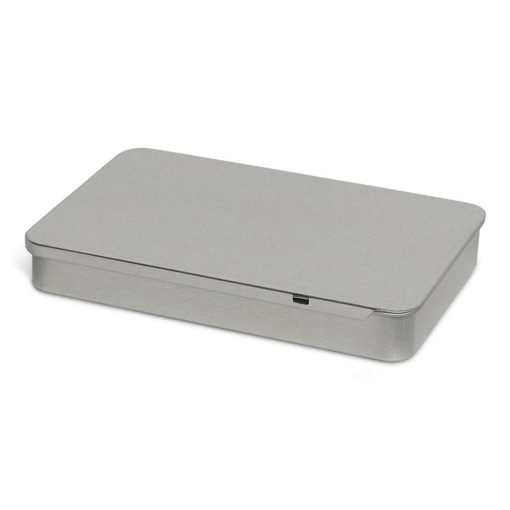 Slider Tin - Child Resistant - Silver - [200 per case]