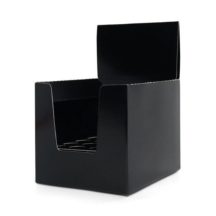 Unbranded  20-Pack Display Box - Black - [Works With All Plastic Tubes] - 50 per Case