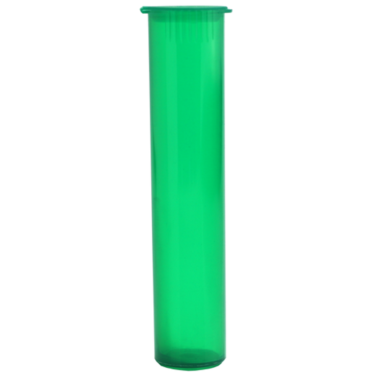 98mm Pre-Roll Tubes - Translucent Green  - Child Resistant [700 tubes per case]