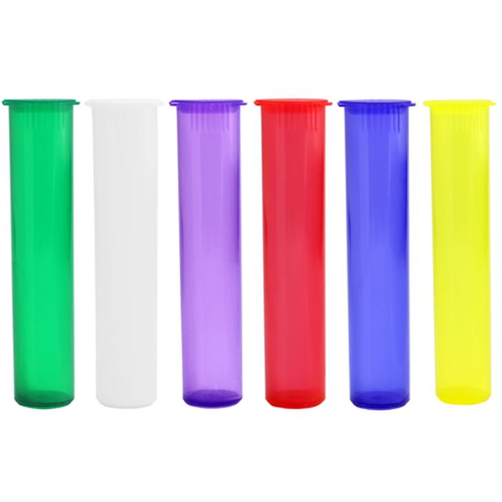 98mm Pre-Roll Tubes - Translucent Mix - Child Resistant [700 tubes per case]