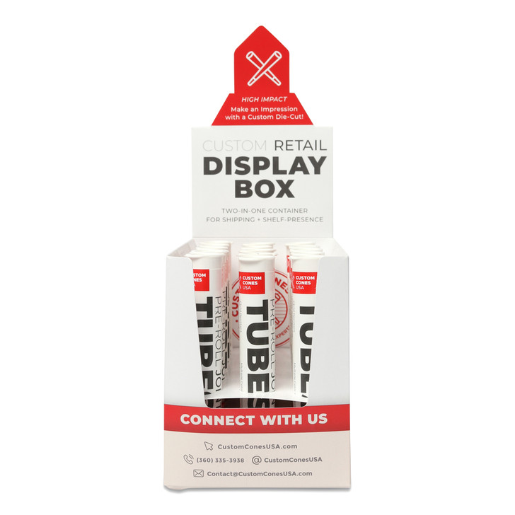 Pre-Roll Displays and Dispensers - Joint Tubes