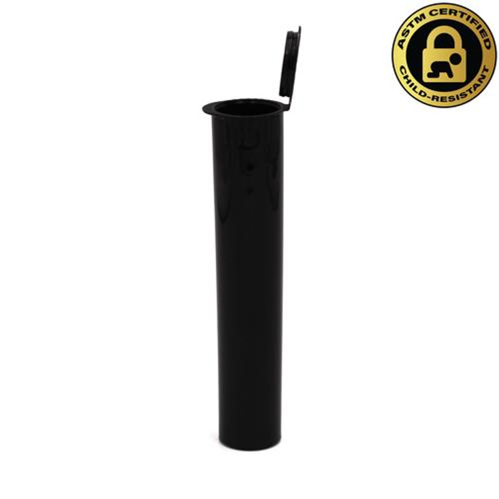 95mm Black Griplok Pre-Roll Tubes [600 per Case]