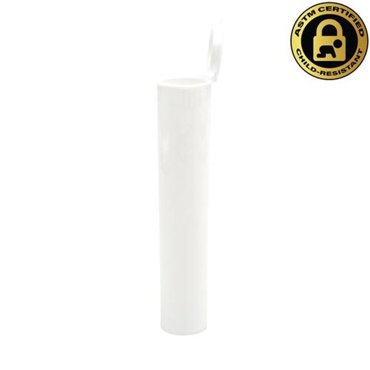 95mm White Griplok Pre-Roll Tubes [600 per Case]