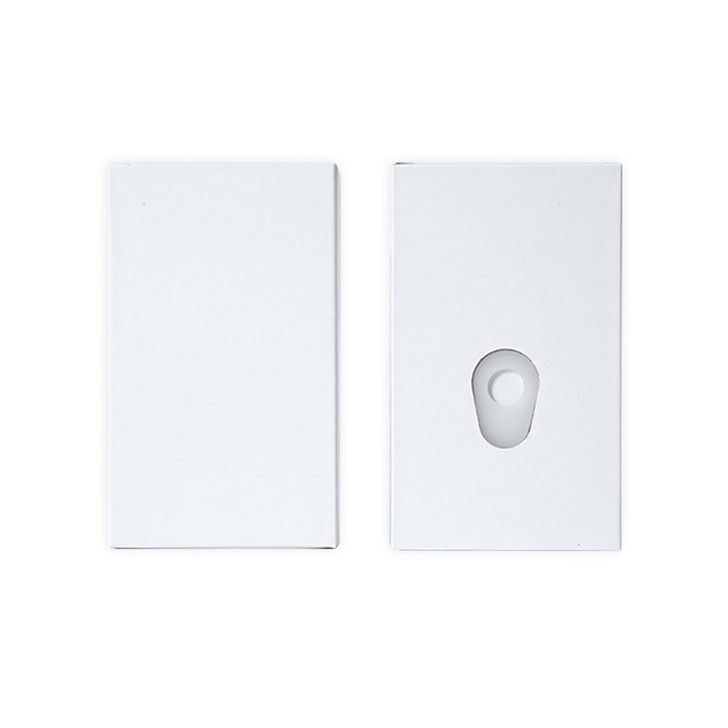 Unbranded White Push Packs - No Dividers - 98mm (Box of 200)
