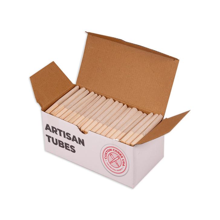 98mm Pre-Rolled Artisan Tubes - Spiral Tip - 100% Organic Hemp [180 Tubes]