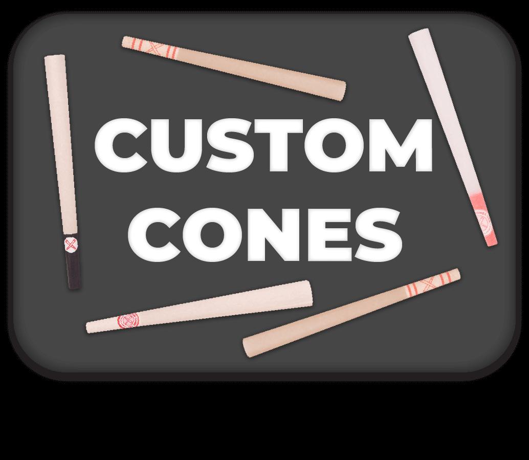Custom Cones Button